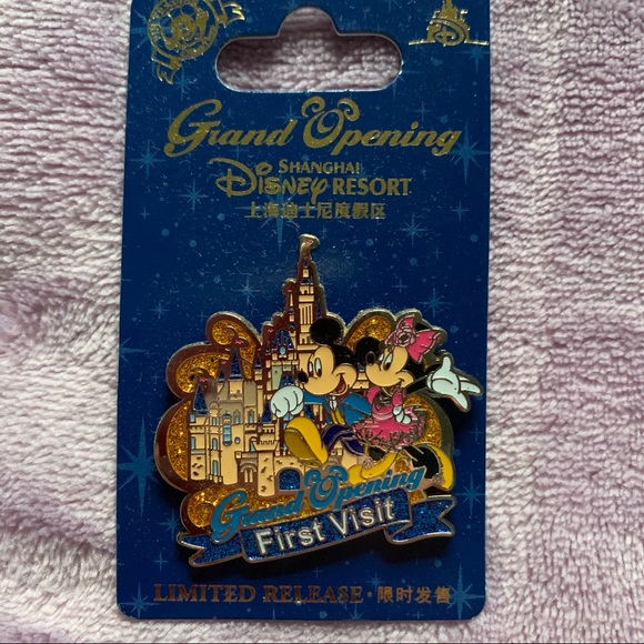 Shanghai Disney Grand Opening 1st Visit Mickey Pin